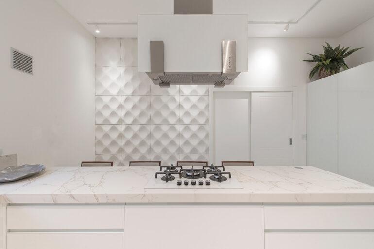 Revestimento 3D para cozinha